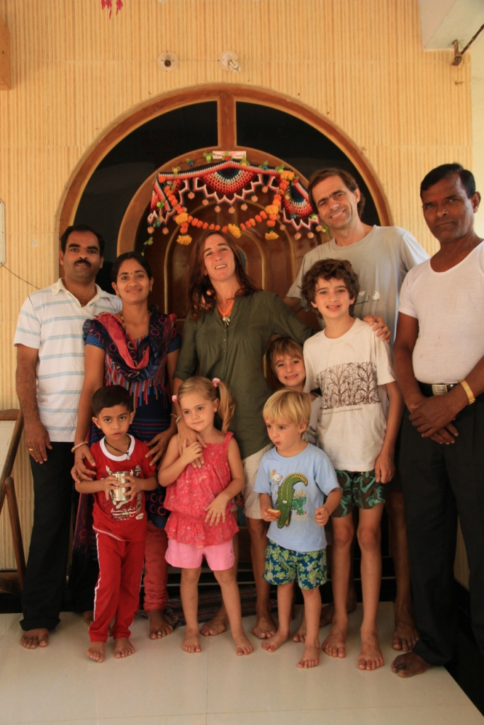 Satish family where we stayed a couple of days