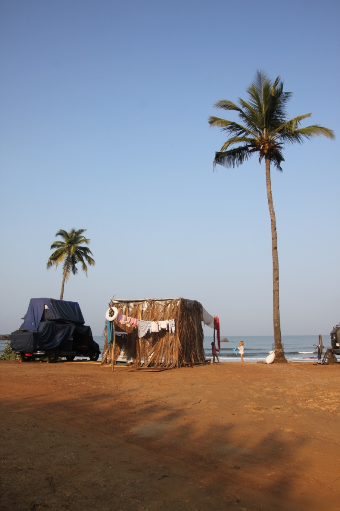 Two months camping in Goa, India