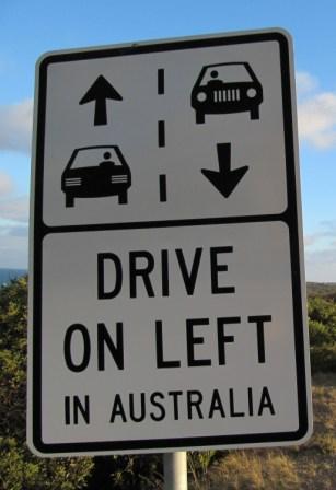 Manejar izquierda